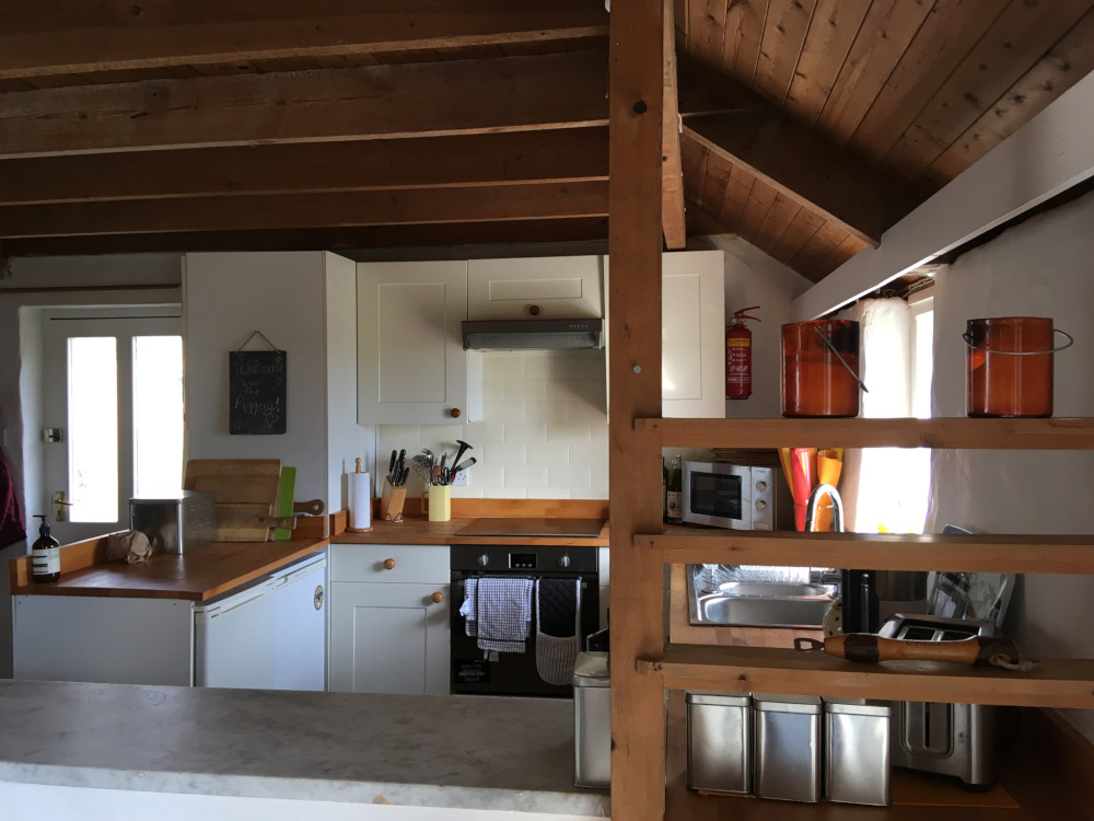 Cornish cottage kitchen