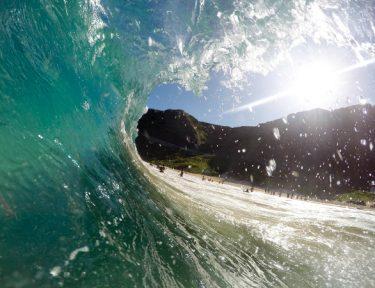 catch the surf at sennen beach